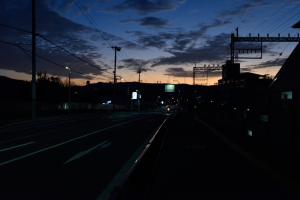 土師ノ里駅付近