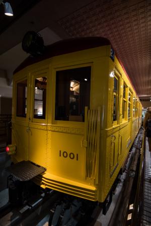 地下鉄博物館・1001号車