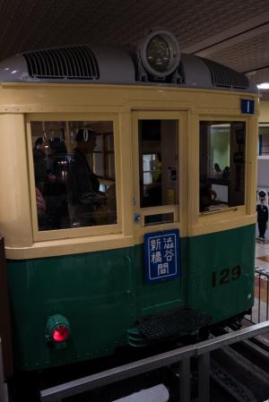 地下鉄博物館・100形車両