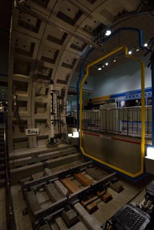 地下鉄博物館・トンネル