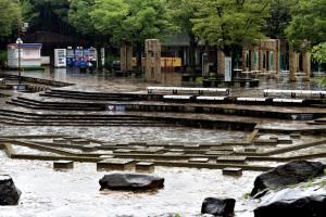 府中市郷土の森博物館・水遊びの池