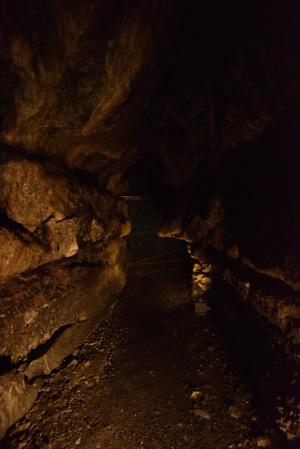 日原鍾乳洞・香炉岩付近