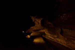 日原鍾乳洞・地獄谷付近