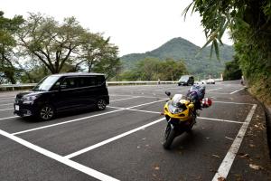 唐沢山神社・駐車場