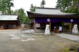 唐沢山神社・拝殿