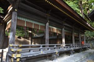 諏訪大社・下社春宮・幣拝殿