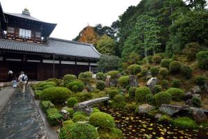 東福寺・開山堂と庭園
