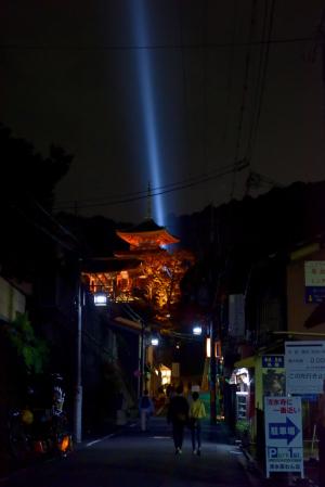 清水寺ライトアップ