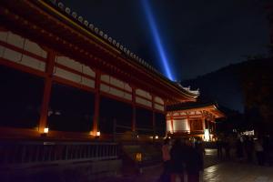 清水寺ライトアップ・経堂