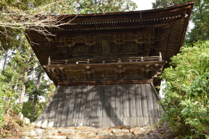 神護寺・鐘楼