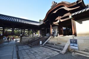 妙心寺・大方丈の入り口