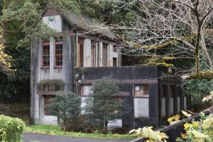 蹴上インクライン・古い建物