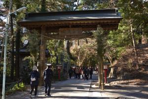 薬王院・浄心門