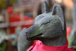 花園稲荷・狐
