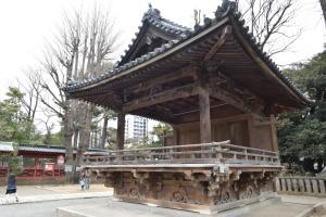 根津神社・舞殿