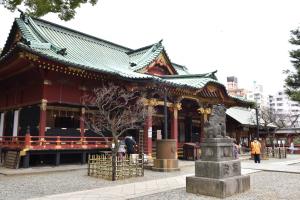 根津神社・社殿