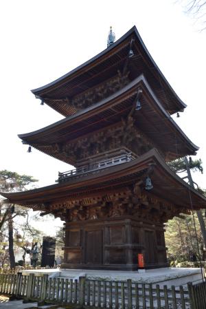 豪徳寺・三重塔