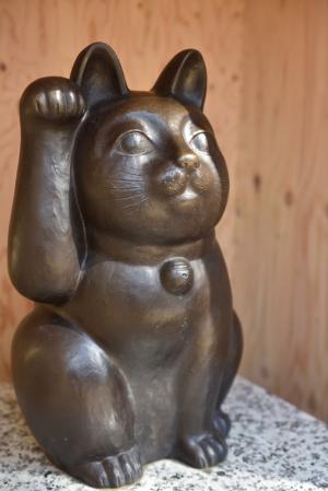 豪徳寺・招き猫
